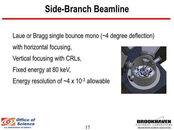 Side-Branch Beamline