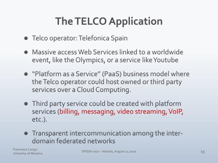 The TELCO