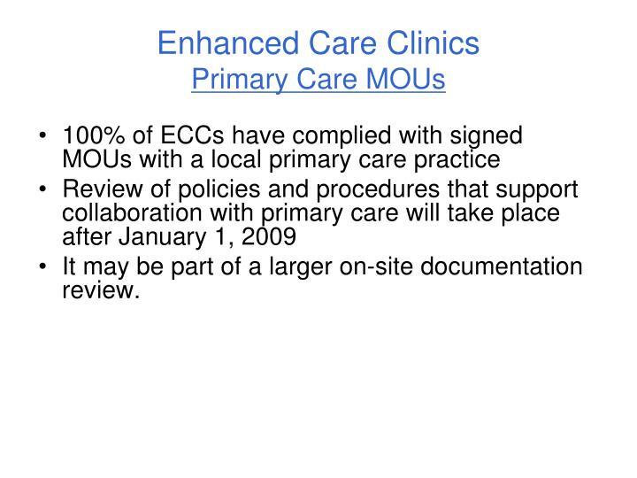Enhanced Care Clinics