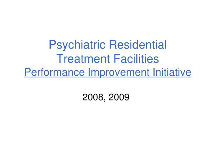 Psychiatric Residential