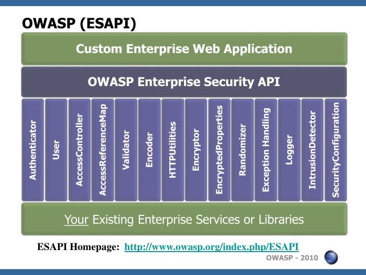OWASP (ESAPI)
