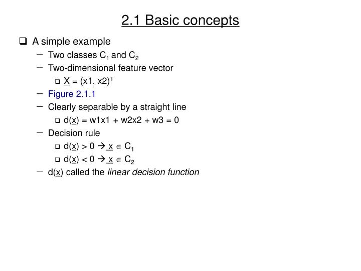 2 1 basic concepts