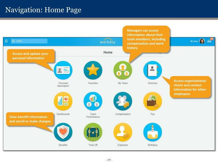 Navigation: Home Page