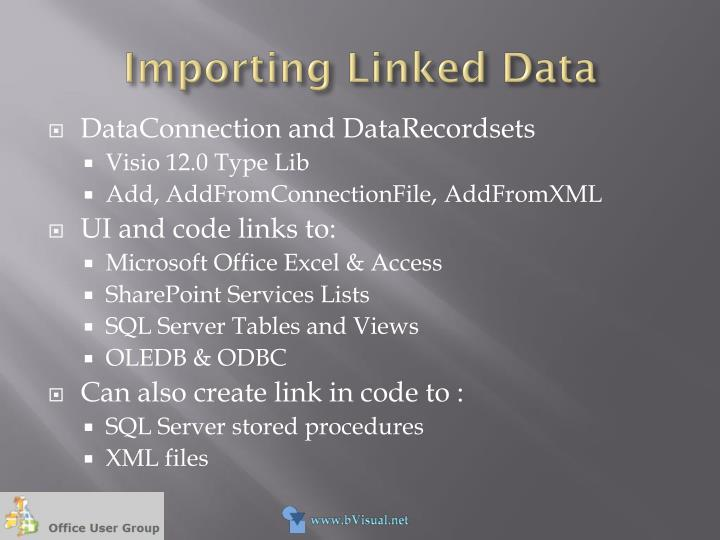 Importing Linked Data