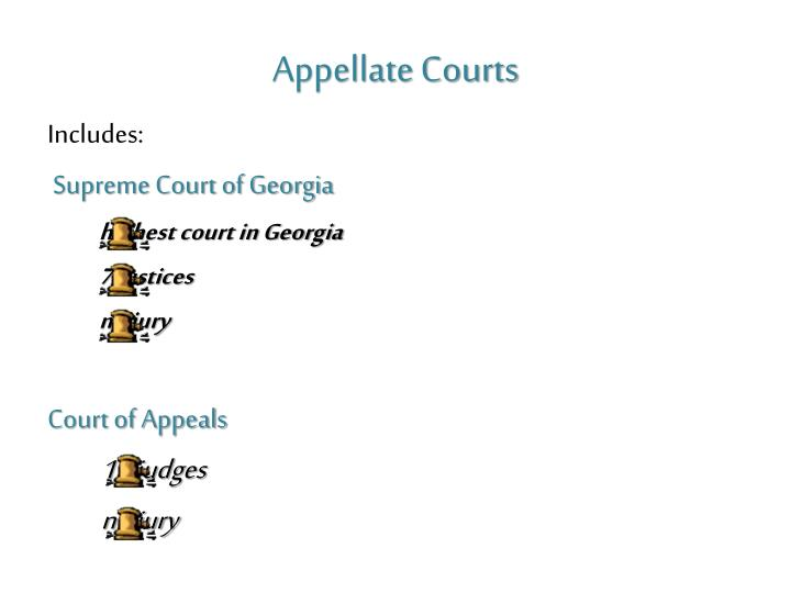 Appellate Courts