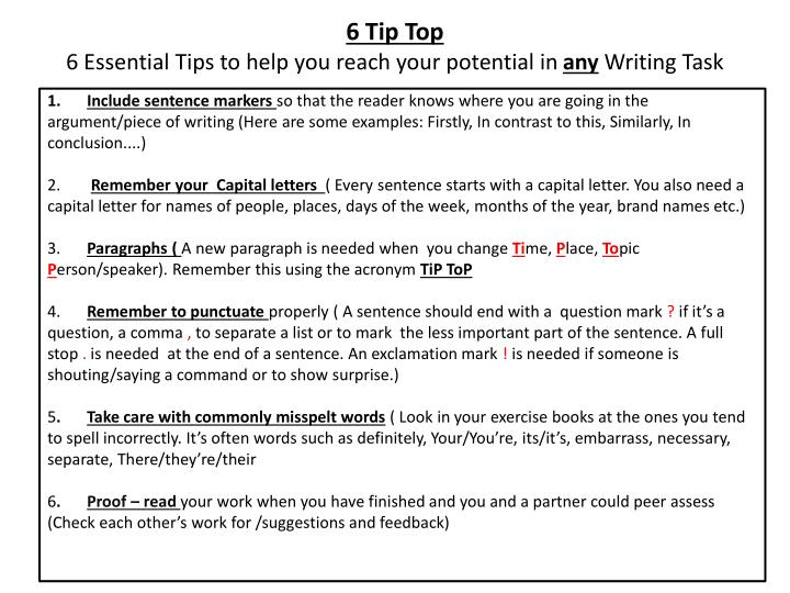 6 Tip Top