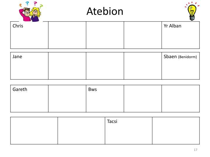 Atebion