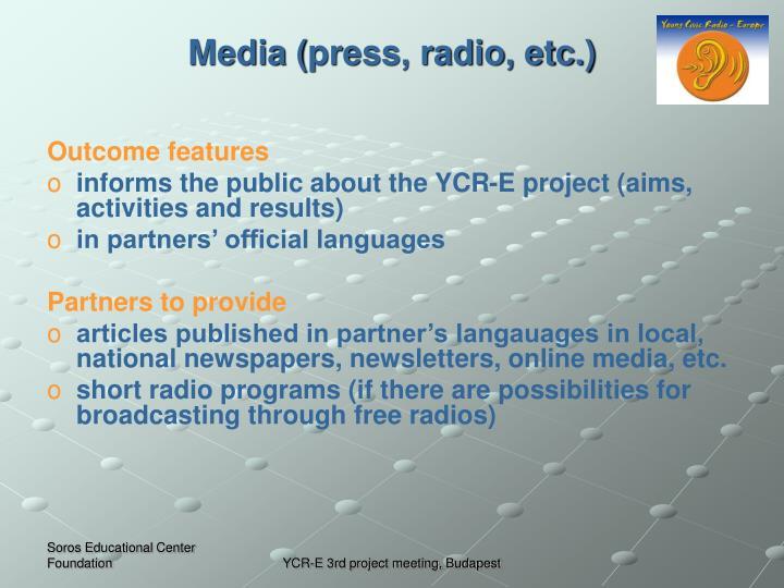 Media (