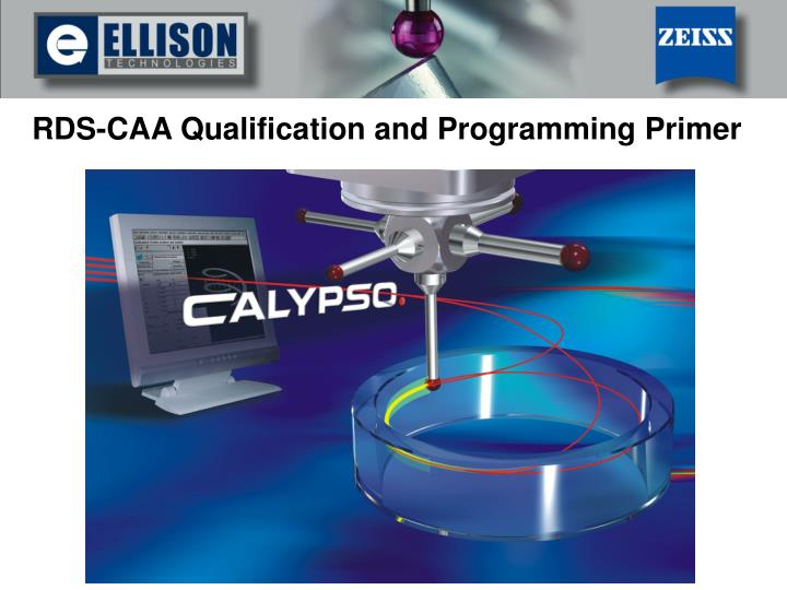 Rds caa qualification and programming primer