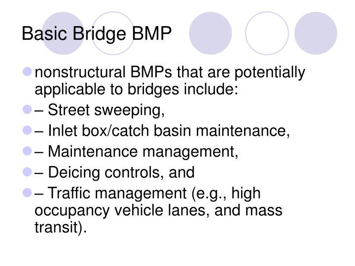 Basic Bridge BMP