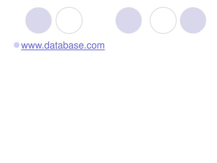 www.database.com