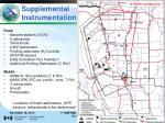 supplemental instrumentation