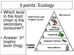 3 points ecology15