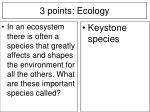 3 points ecology16