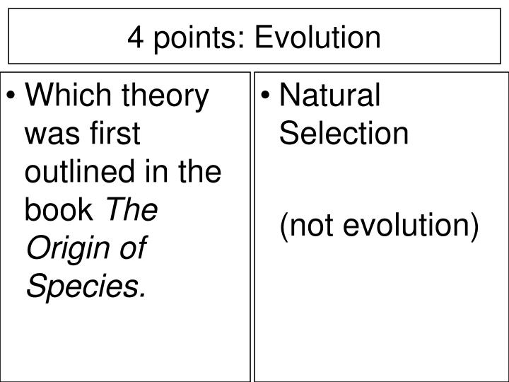 Which theory was first outlined in the book