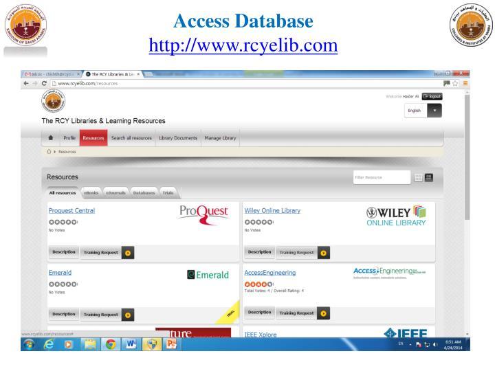 Access Database
