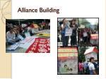 alliance building