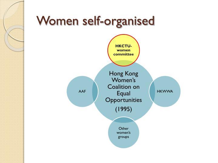 Women self-organised