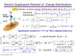 electric quadrupole moment of charge distributions