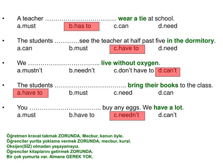 A teacher ……………………………..