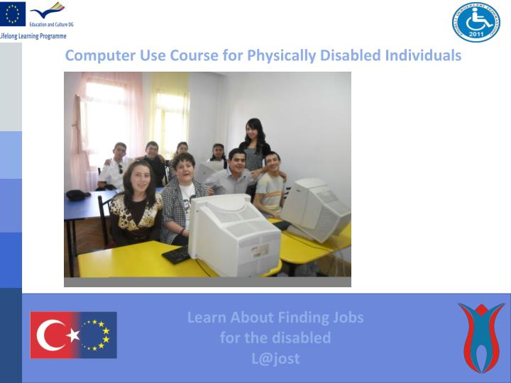 Computer Use Course for Physically Disabled Individuals