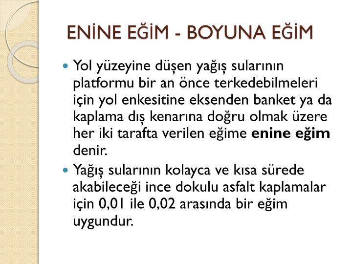ENNE EM - BOYUNA EM
