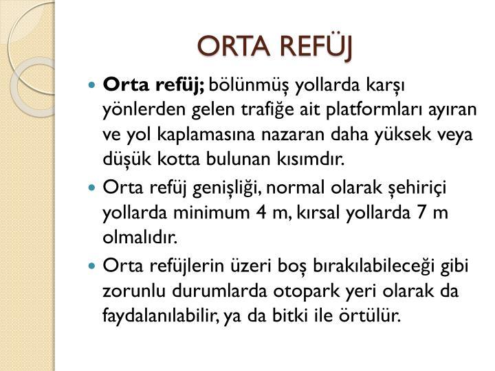 ORTA REFJ