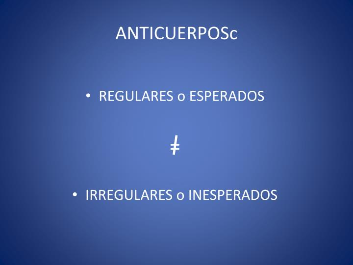 Anticuerposc