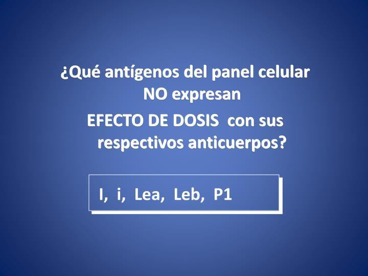 I,  i,  Lea,  Leb,  P1