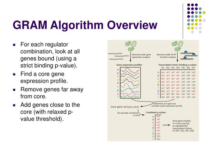 GRAM Algorithm Overview