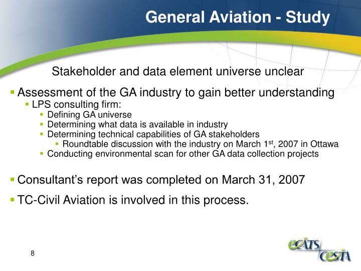 General Aviation - Study