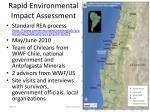 rapid environmental impact assessment