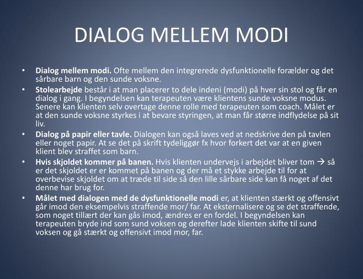 DIALOG MELLEM MODI
