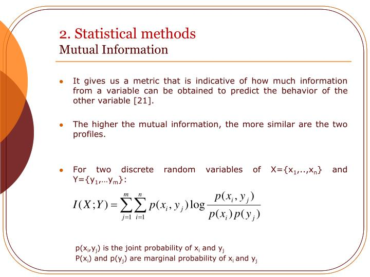 2. Statistical