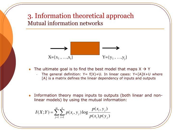 3. Information