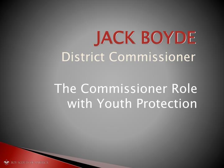 JACK BOYDE
