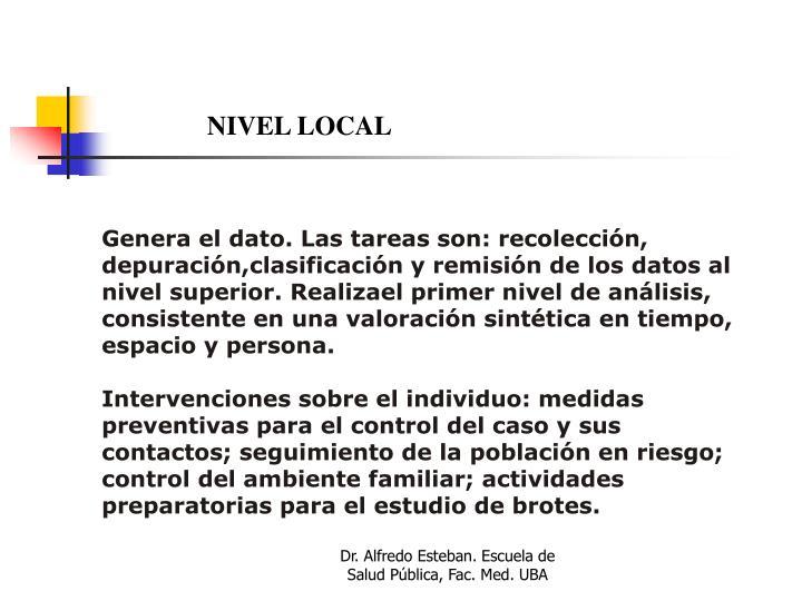 NIVEL LOCAL