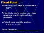 fixed point1