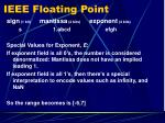 ieee floating point6