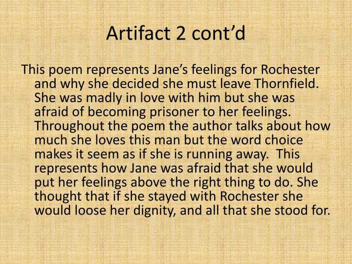Artifact 2 cont'd