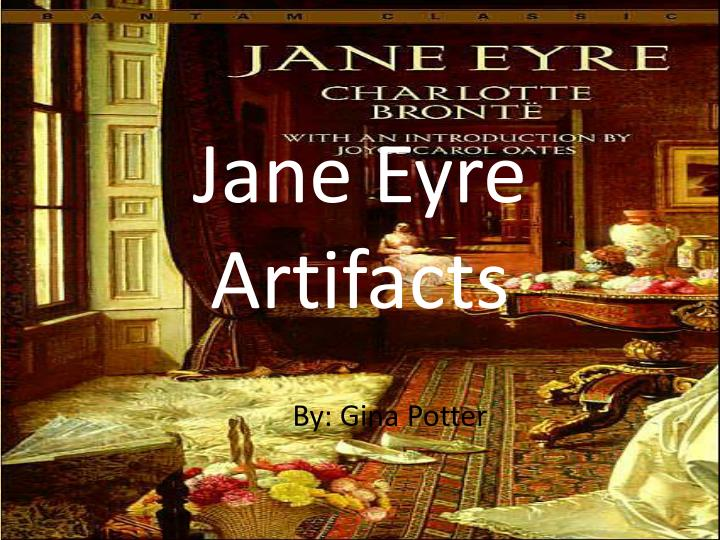 Jane eyre artifacts