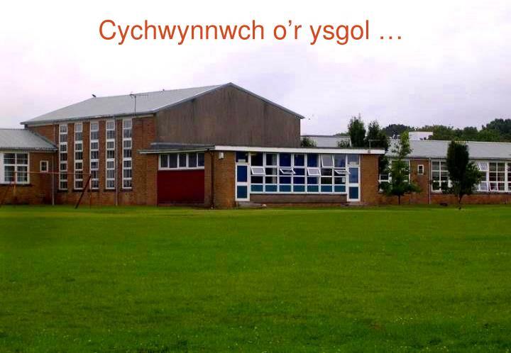 Cychwynnwch o'r ysgol …