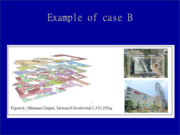 Example of case B