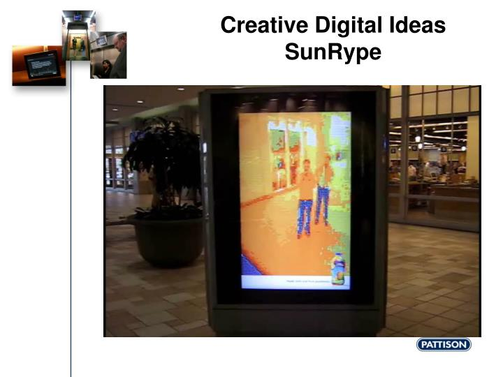 Creative Digital Ideas