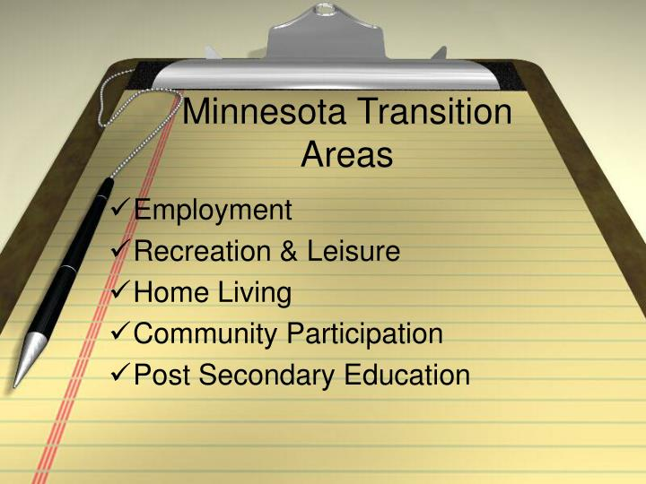 Minnesota Transition Areas