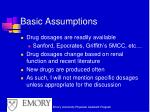 basic assumptions2