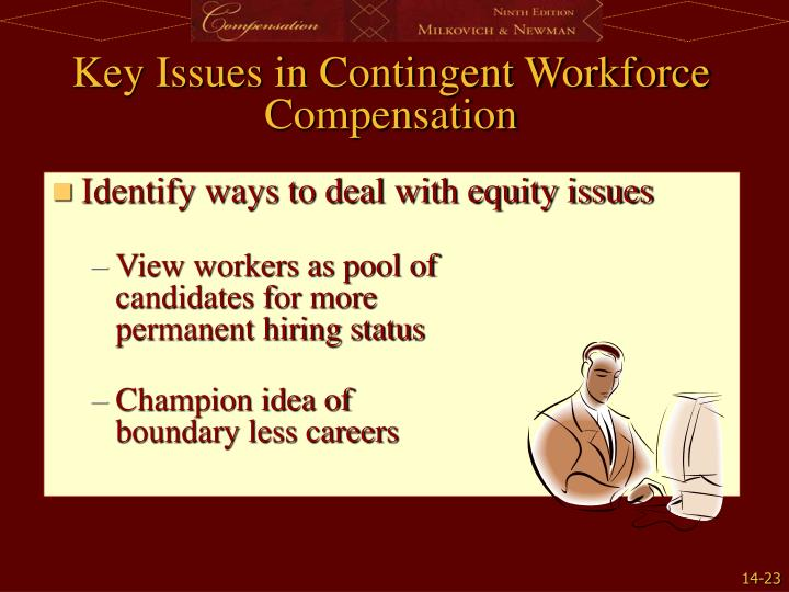 Identify ways to deal with equity issues