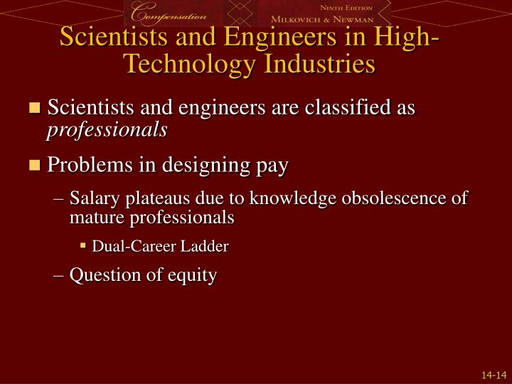 Scientists and Engineers in High-Technology Industries