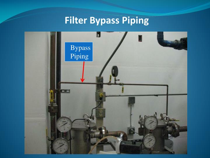 Filter Bypass Piping