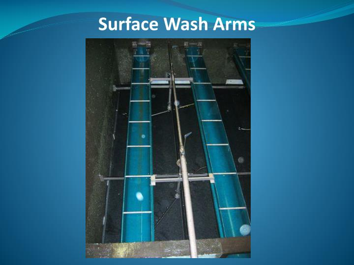 Surface Wash Arms